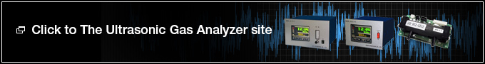 Click to The Ultrasonic Gas Analyzer site